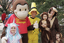 Curious George and Family